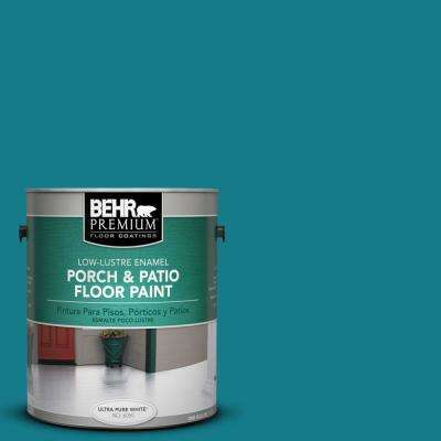 1 gal. #PPU13-1 Caribe Low-Lustre Porch and Patio Floor Paint