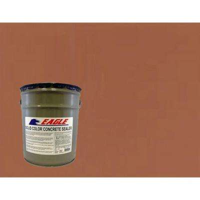 5 gal. Naturally Red Solid Color Solvent Based Concrete Sealer