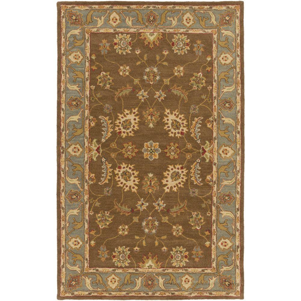 Middleton Emerson Chocolate 6 ft. x 9 ft. Indoor Area Rug