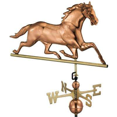 Horse Weathervane - Pure Copper