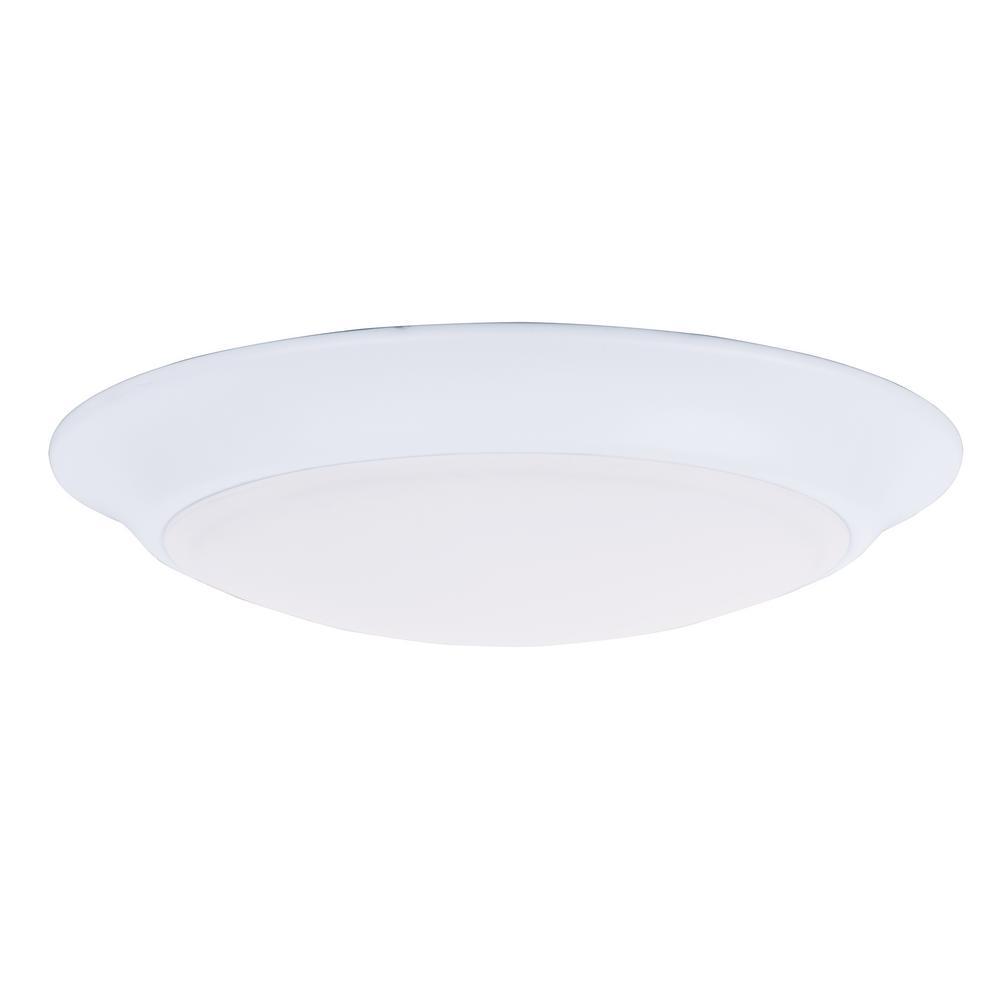 Maxim Lighting Diverse LED 1-Light White Flush Mount