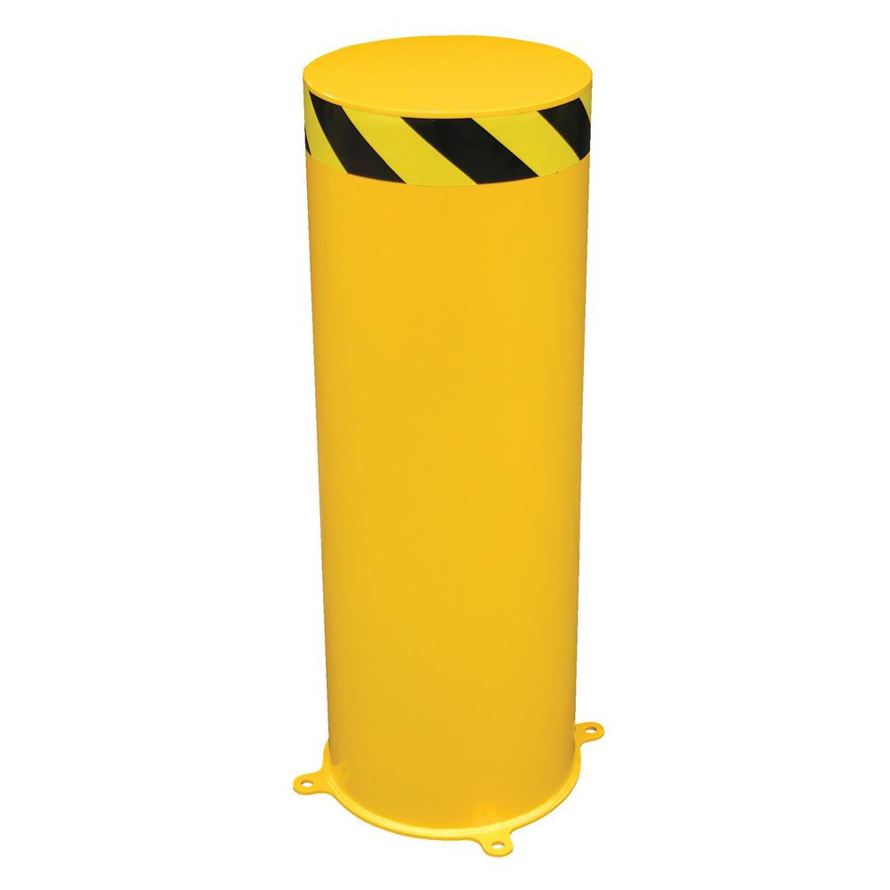 16 in. x 48 in. Jumbo Steel Pipe Safety Bollard