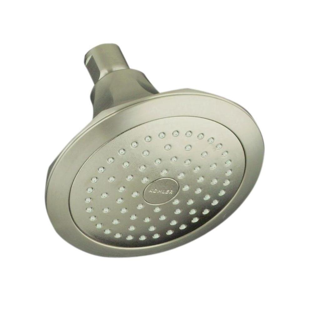 KOHLER Memoirs Classic 1-Spray Single Function 5 1/2 in. Fixed ...