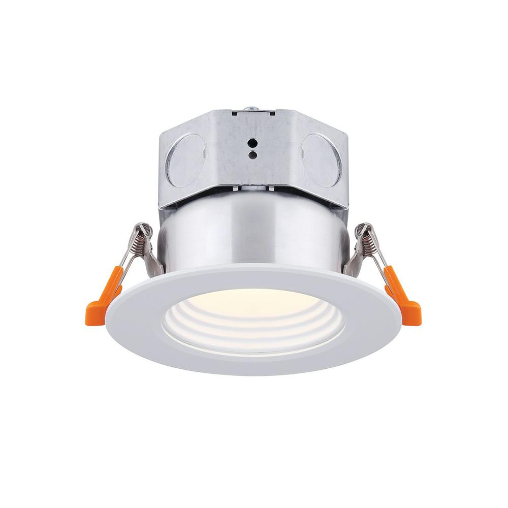 Canarm 3 In White Integrated Led Recessed Kit