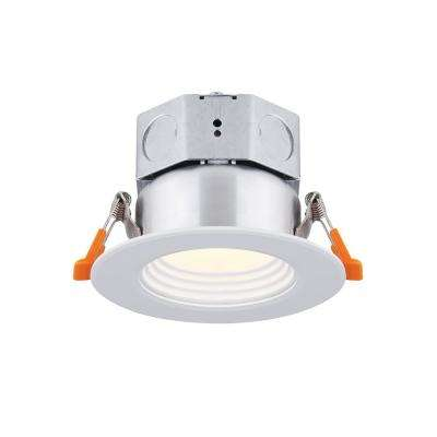 3 in. White Integrated LED Recessed Kit
