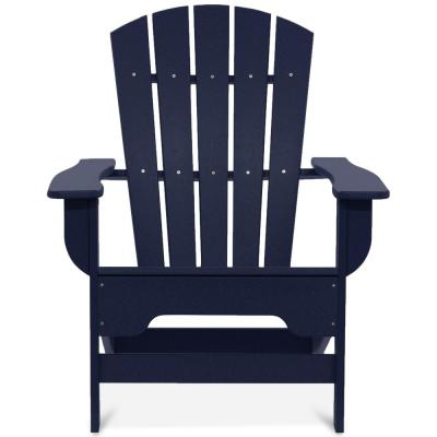 Boca Raton Navy Blue Recycled Plastic Adirondack Chair