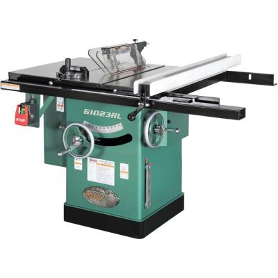 10 in. 3 HP 240-Volt Cabinet Left-Tilting Table Saw