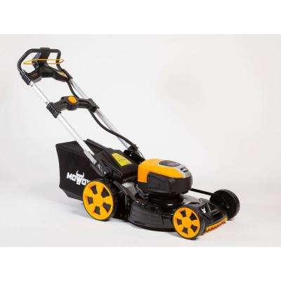 21 in. 82-Volt Cordless Self Propelled Variable Speed RWD Walk Behind Mower with 82-Volt 4.0 Ah Battery and Charger