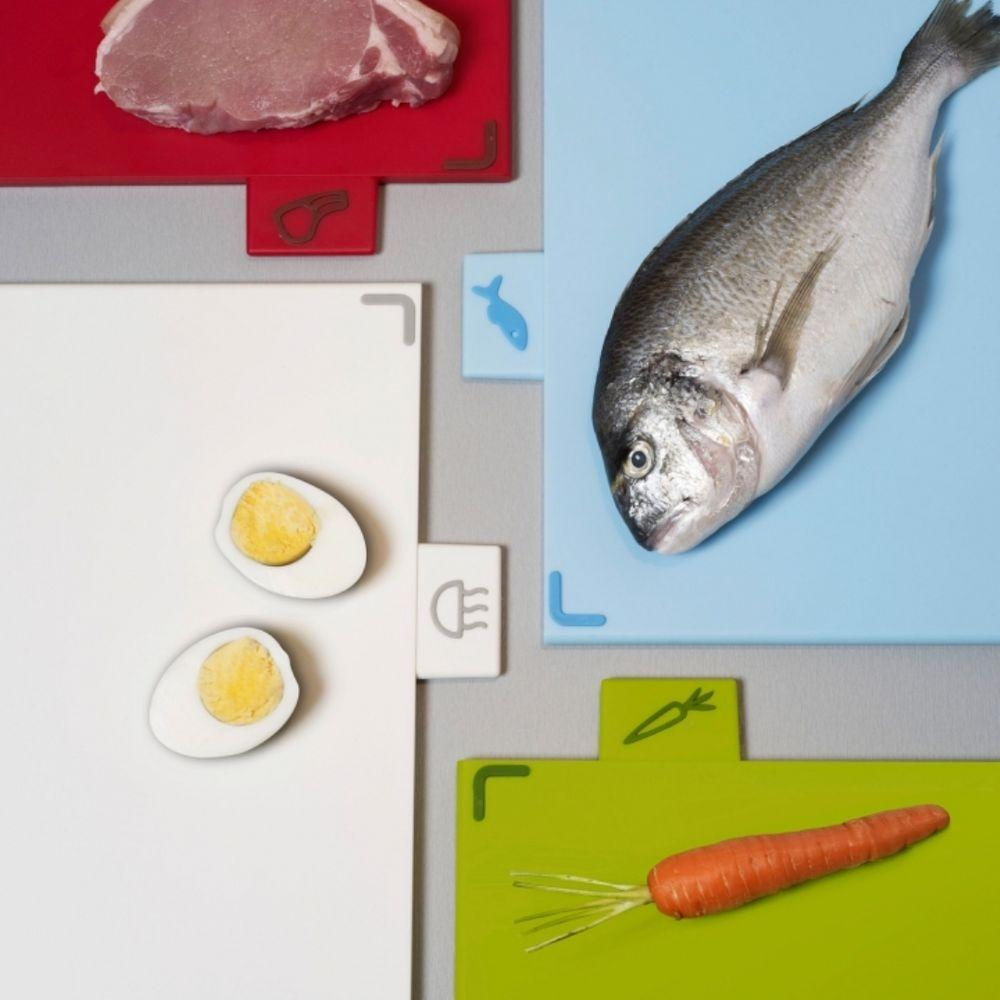 Joseph Joseph Index Advance Chopping Board Silver