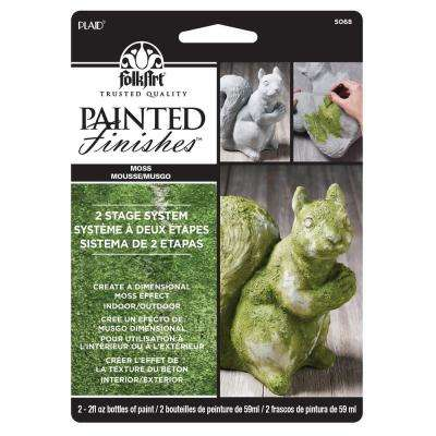 Faux Moss Painted Finish Kit