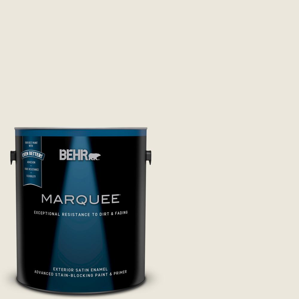 BEHR 1 gal. White Exterior Barn and Fence Paint-03501 ...