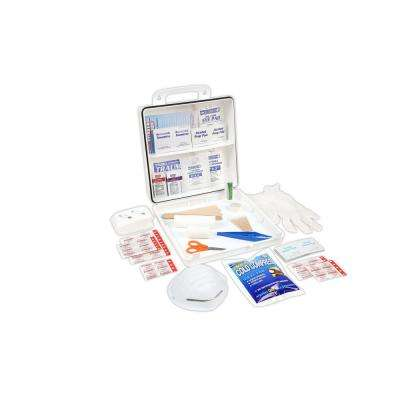 233-Piece 50 Person OSHA/ANSI Poly First Aid Kit