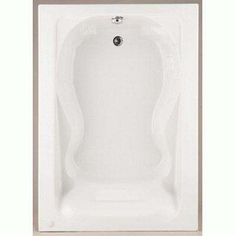 Cadet 5 ft. Acrylic Reversible Drain Bathtub in White