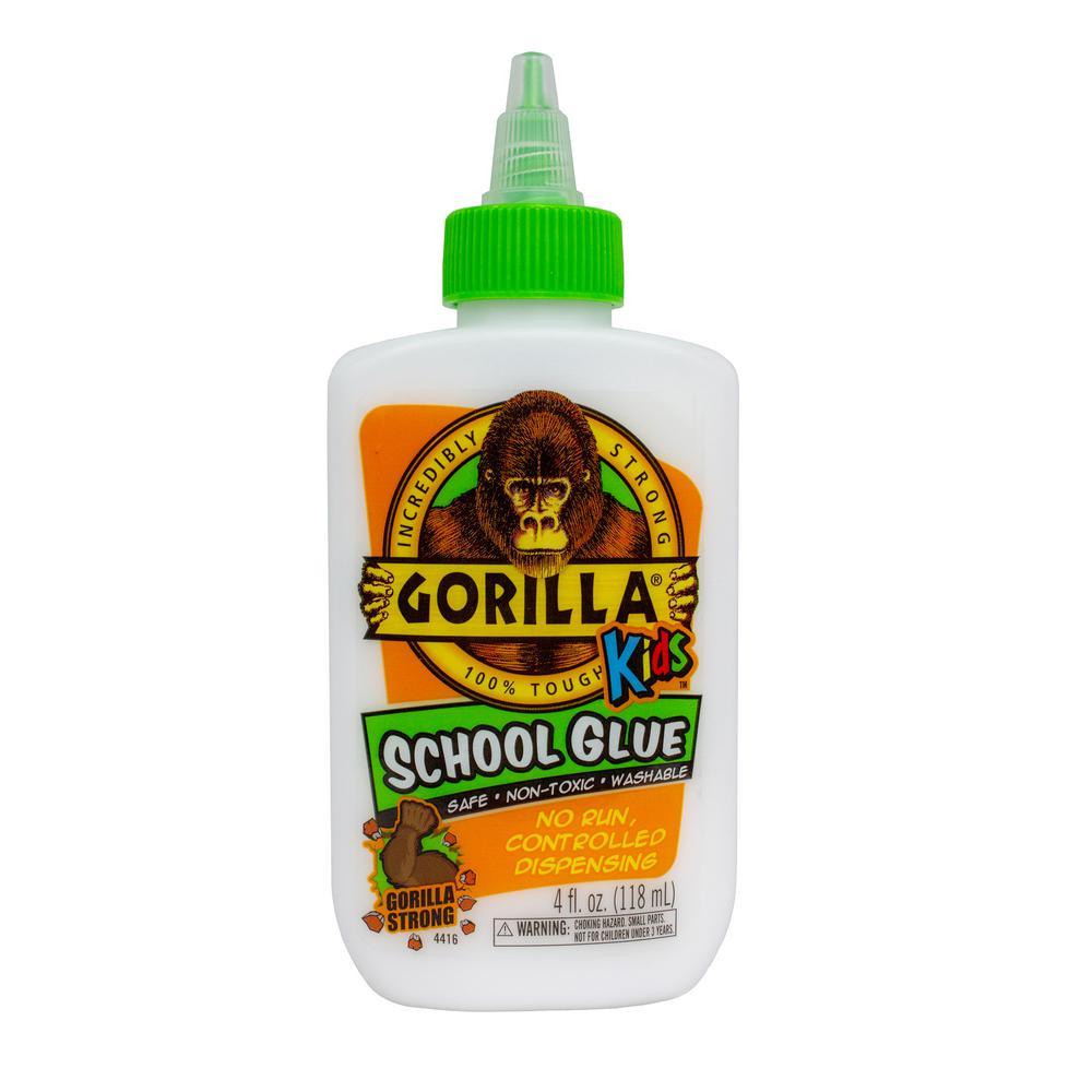Gorilla Gorilla 4 oz. Kids School Glue (6-Pack)