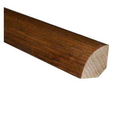 Hickory Dusk 3/4 in. Thick x 3/4 in. Wide x 78 in. Length Hardwood Quarter Round Molding