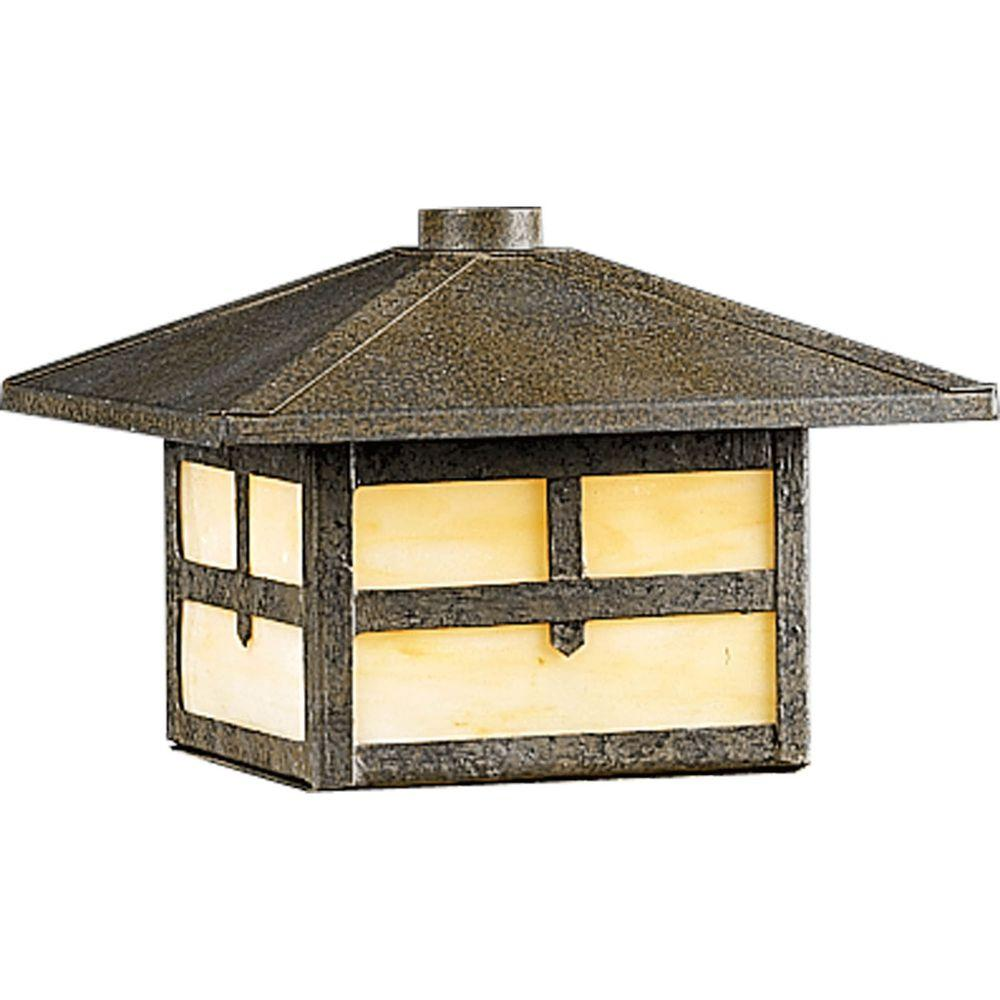 Progress Lighting Low Voltage 18-Watt Weathered Bronze Landscape Deck Light