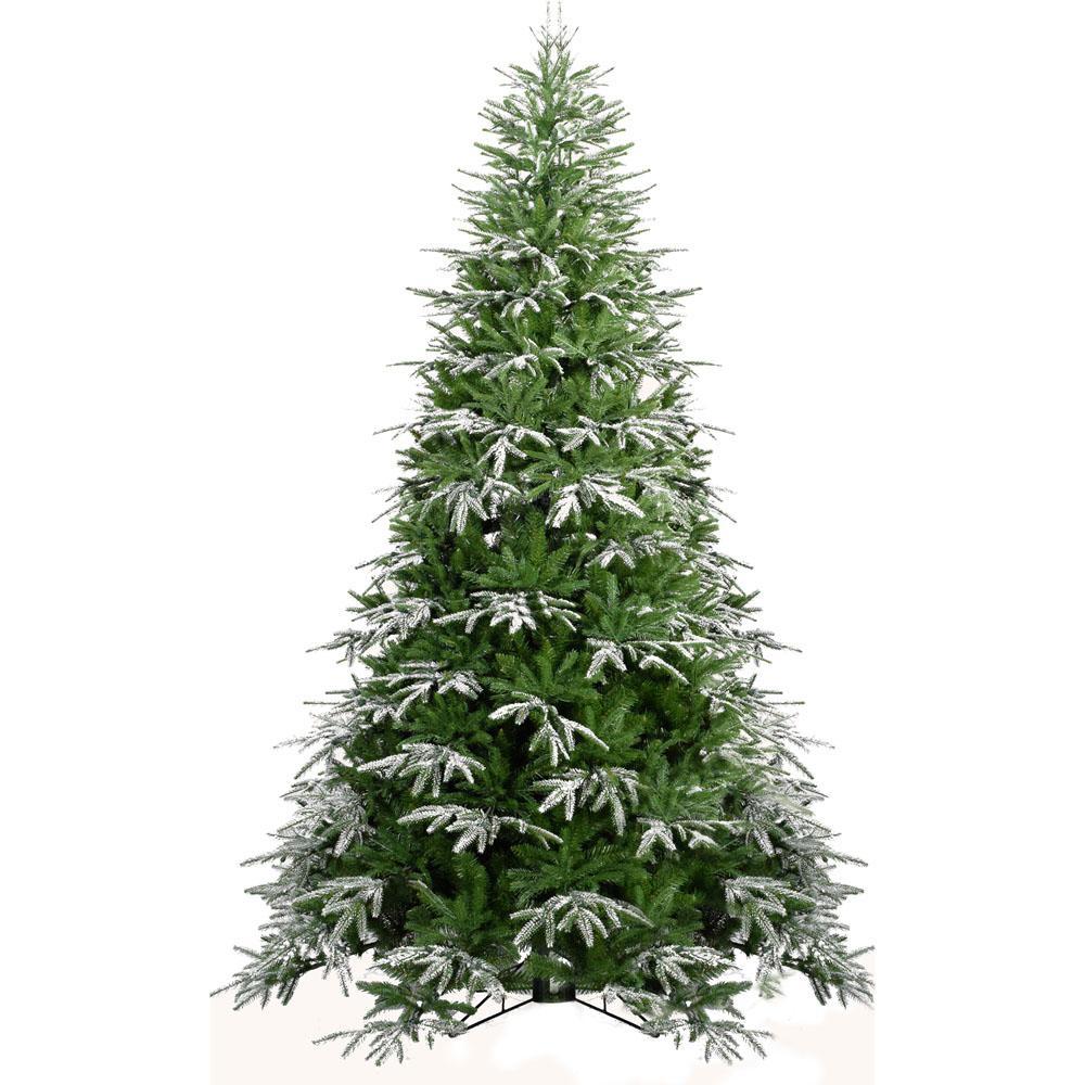 Fraser Fir Christmas Trees: Fraser Hill Farm 6.5 Ft. Hunter Fir Artificial Christmas