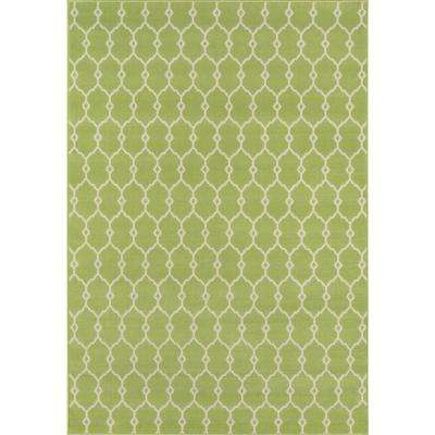 Baja Green 5 ft. x 8 ft. Indoor/Outdoor Area Rug