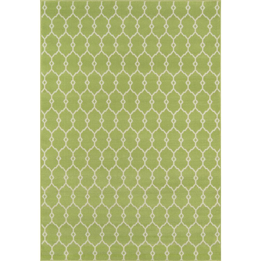 Baja Green 7 ft. x 10 ft. Indoor/Outdoor Area Rug