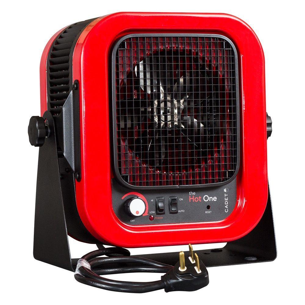 Cadet The Hot One 5000 Watt 240 Volt Electric Garage