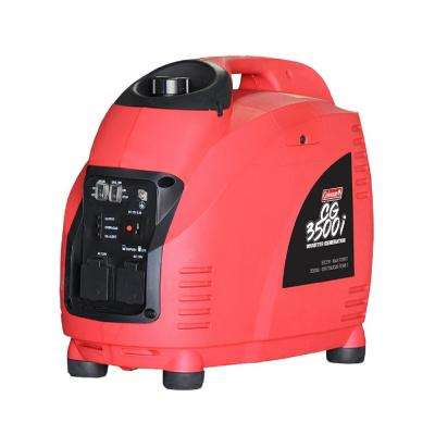 3500-Watt Gasoline Powered Recoil Start Inverter Generator