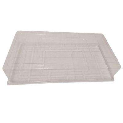 11 in. x 22 in Short Clear Plastic Dome (20-Pack)