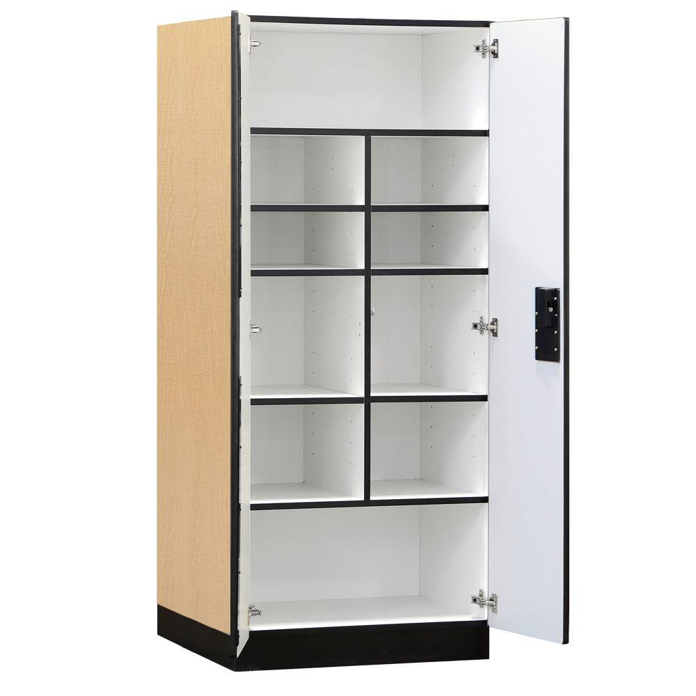 home depot storage cabinets salsbury industries 3000 series 32 in w x 76 in h x 24 16495