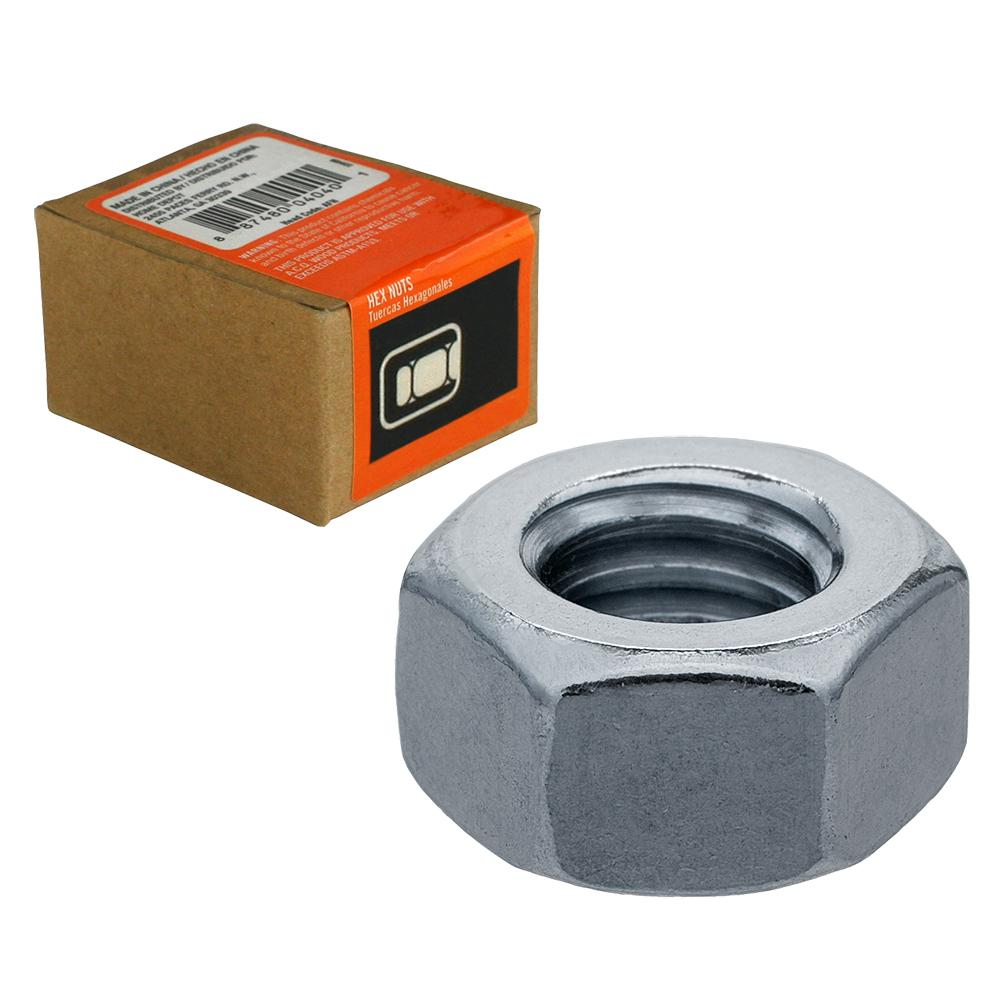 Everbilt 1/4 in.-20 Stainless Steel Hex Nut (25-Pack)