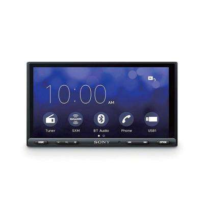 6.95 in. 55-Watt CarPlay/Android Double DIN Receiver with Bluetooth(Open Box)