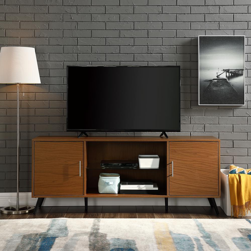 46b9f96b23a39 Walker Edison Furniture Company 60 in. Acorn 2-Door TV Console ...