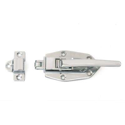 4-29/32 in. Chrome Classic Metal Ice Box Latch