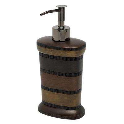 DeSoto Lotion Dispenser in Tri-Color Bronze