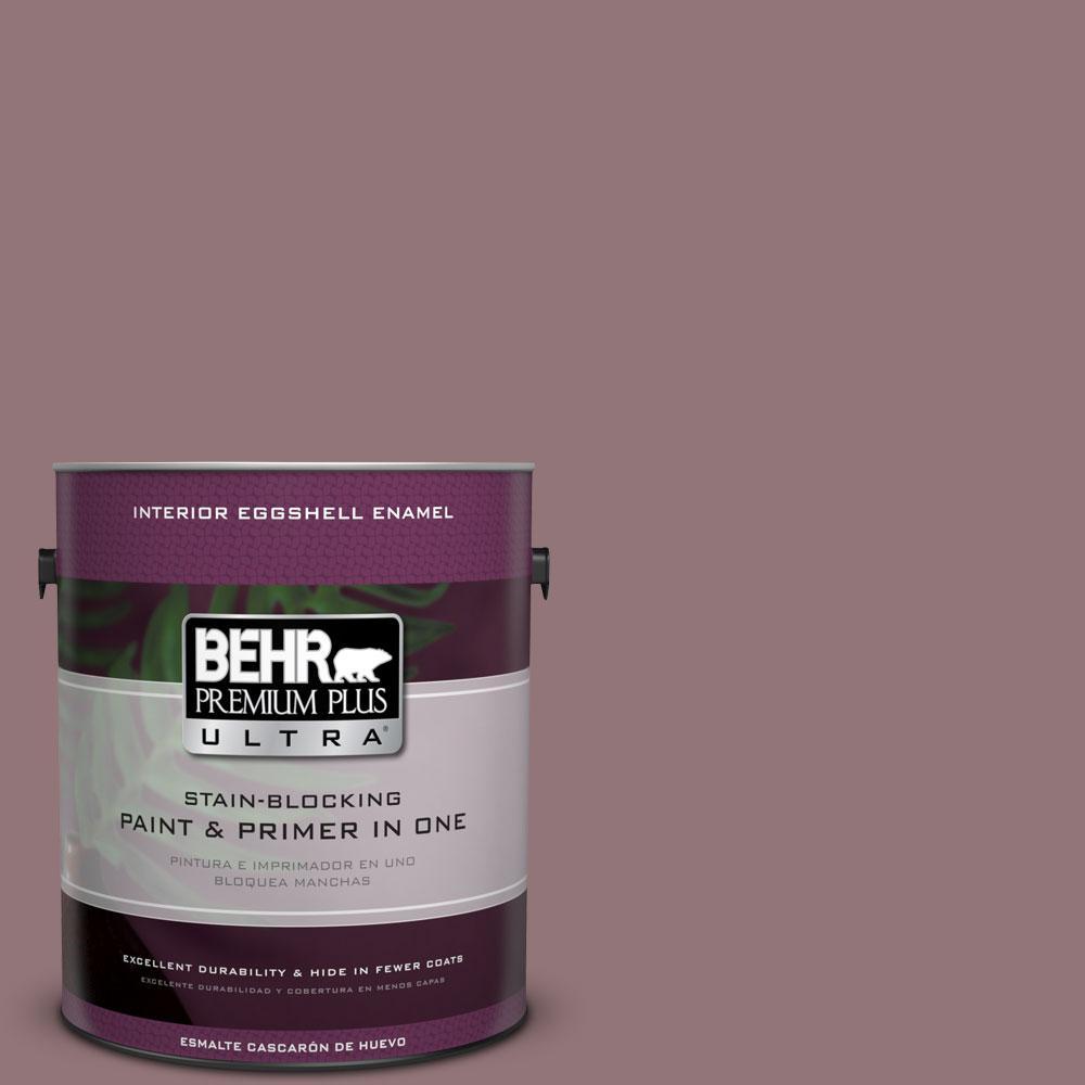 BEHR Premium Plus Ultra 1-gal. #110F-5 Phantom Hue Eggshell Enamel Interior Paint