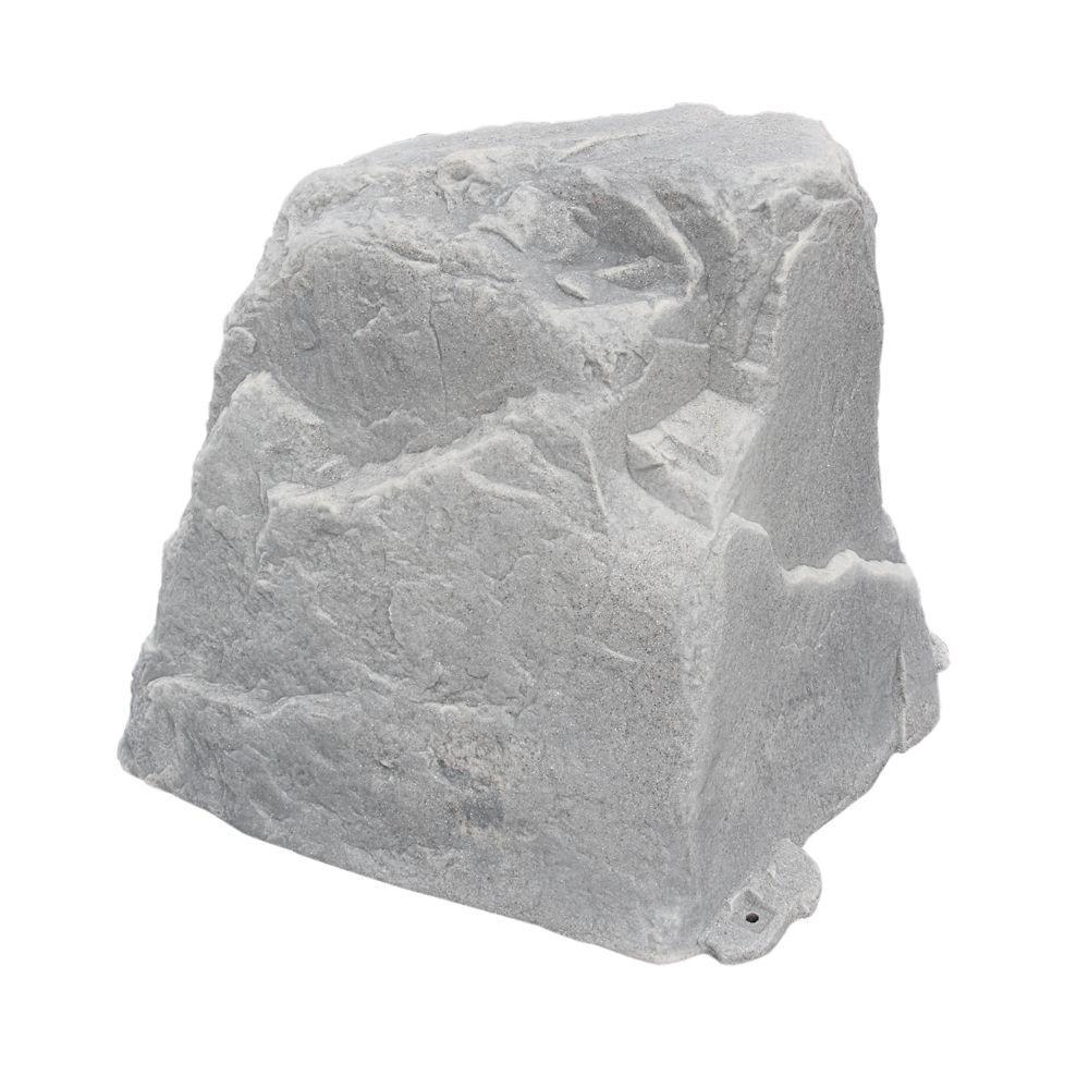 27 in  L x 21 in  W x 25 in  H Medium Plastic Cover in Gray