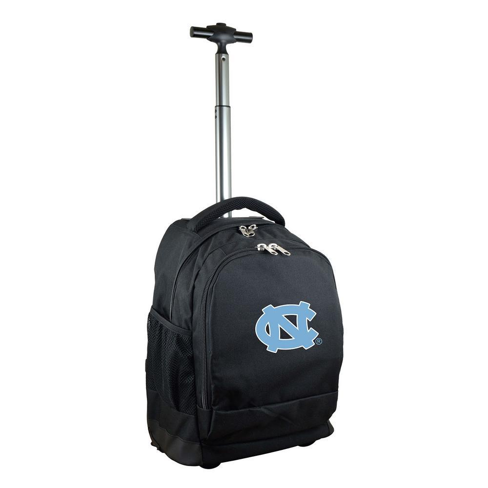 Denco NCAA North Carolina 19 in. Wheeled Premium Backpack