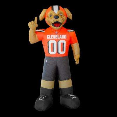 7 ft. Cleveland Browns Inflatable Mascot