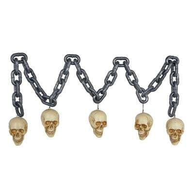 6 ft Chain with Skulls