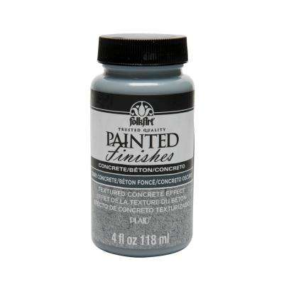4 oz. Dark Concrete Painted Finish