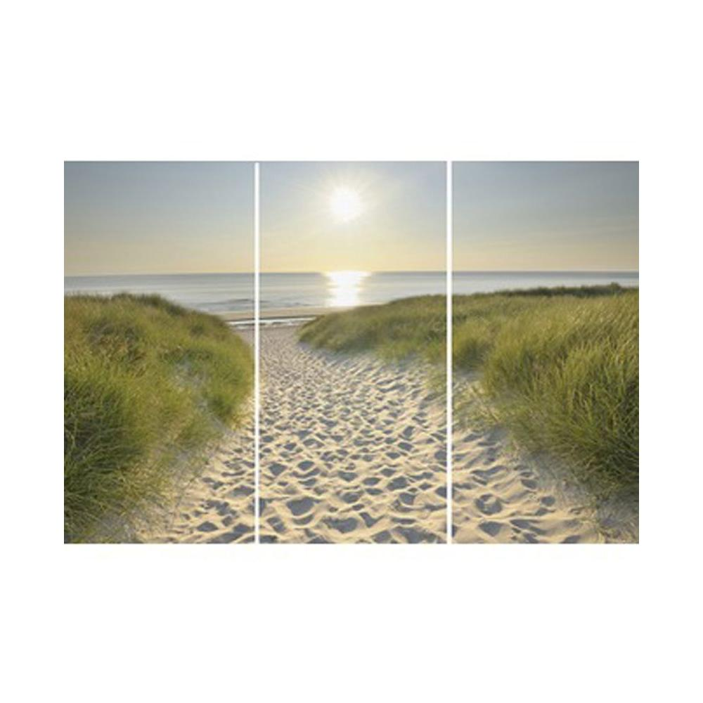 12 in. x 24 in. Beach Walk by Graham and Brown