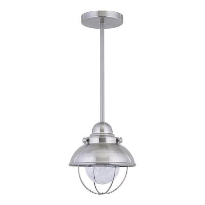 Sebring Brushed Stainless Integrated LED Hanging Pendant