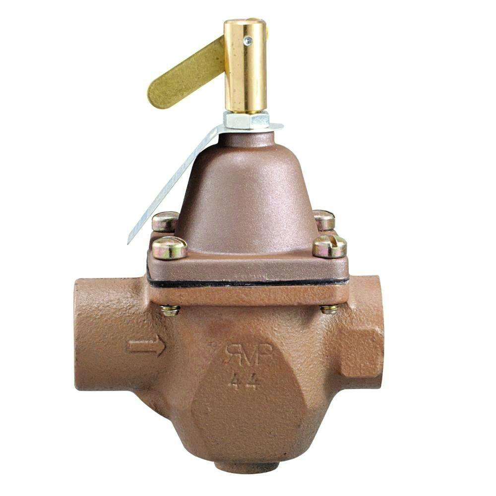 null 1/2 in. Brass FPT Feed-Pressure Regulator