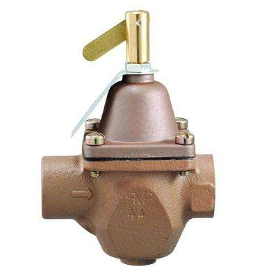 1/2 in. Brass FPT Feed-Pressure Regulator