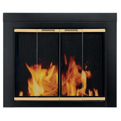 Arrington Medium Glass Fireplace Doors