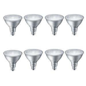90-Watt Equivalent PAR38 Dimmable LED Classic Glass Flood Bright White (3000K) (8-Pack)