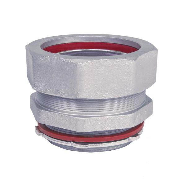 3-1/2 in. Straight Metal Liquid Tight Connector