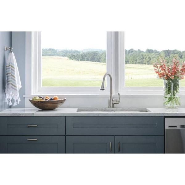 Moen Kaden 87966SRS 1-Handle Pull-Down Kitchen Faucet in Stainless