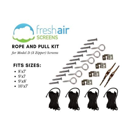 Small Rope and Pull Kit for Model D Screens up to 10ft Wide and 8ft High