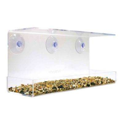 Clear View Window Bird Feeder V2