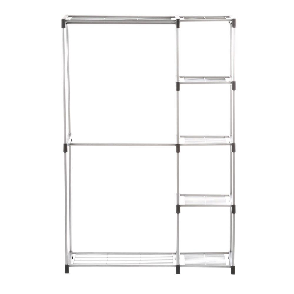Exceptional Whitmor Supreme Garment/Closet Collection 45.37 In. X 68 In. Double Rod  Closet