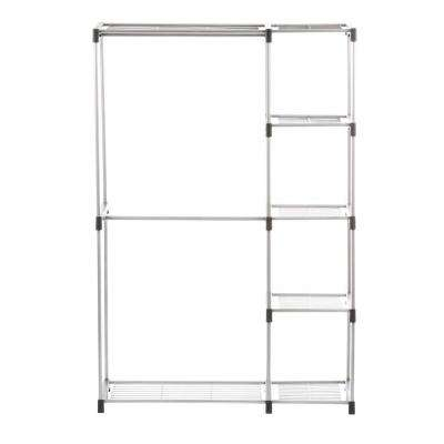 Supreme Garment/Closet Collection 45.37 in. x 68 in. Double Rod Closet Shelves